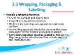 2 3 wrapping packaging labelling2