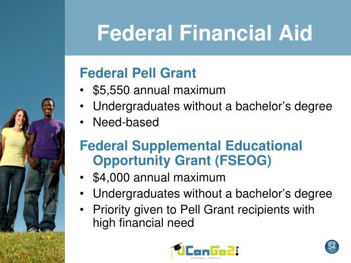Federal Financial Aid
