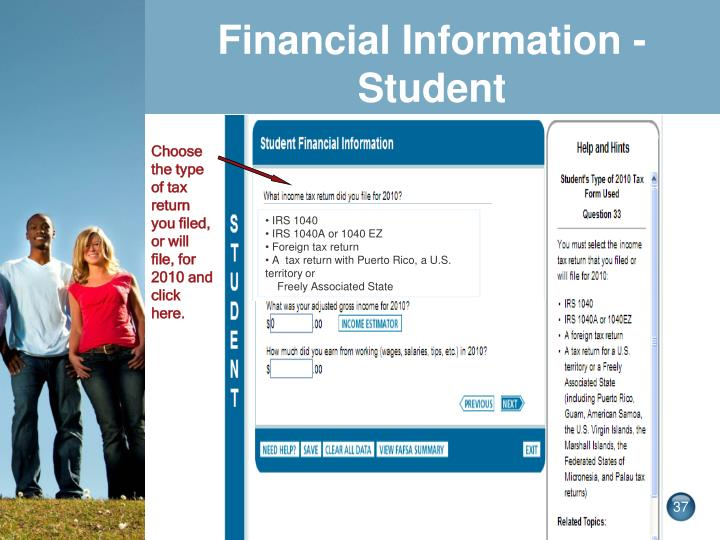 Financial Information -