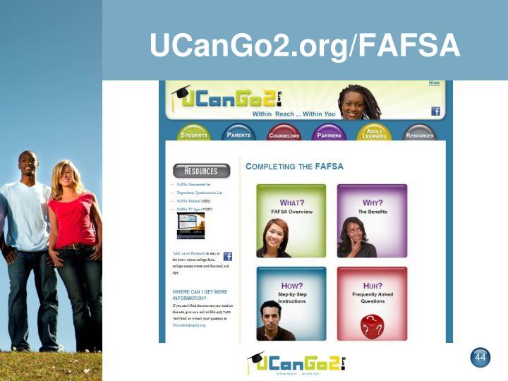 UCanGo2.org/FAFSA