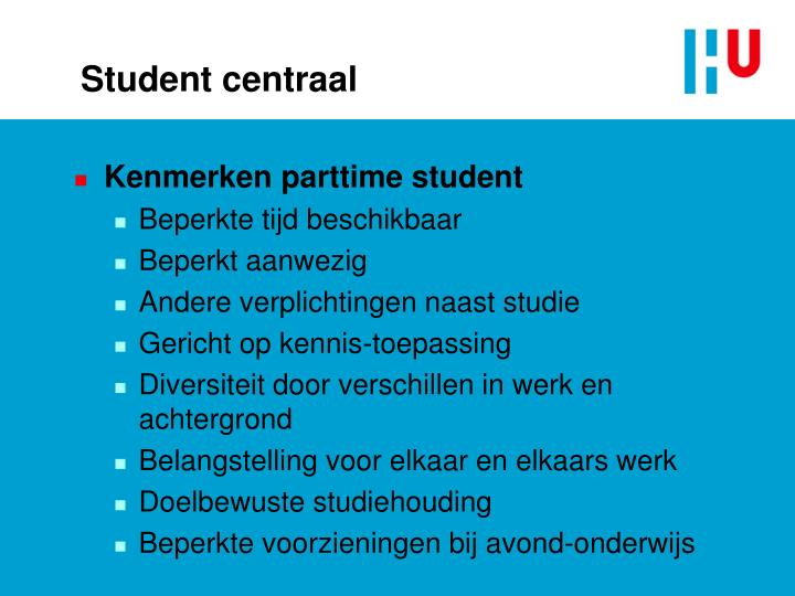 Student centraal