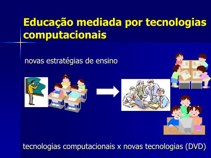 Educação mediada por tecnologias computacionais