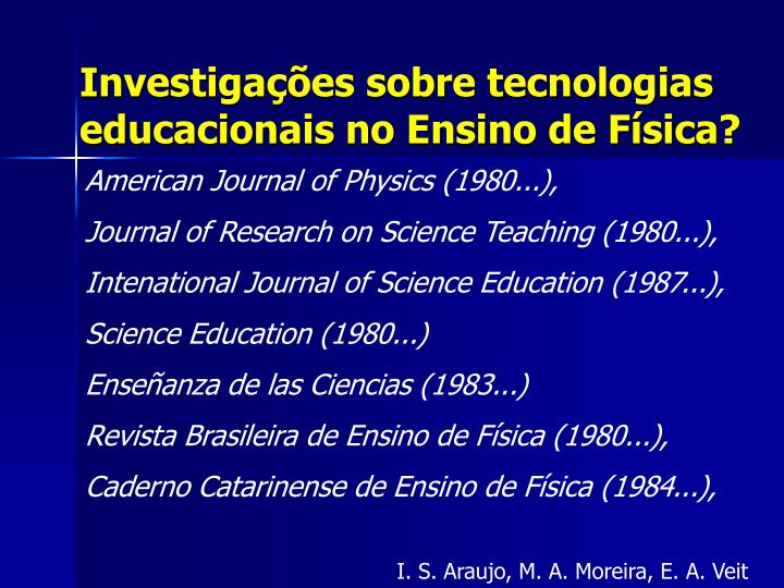 American Journal of Physics (1980...),