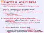 example 3 cookieutilities