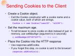 sending cookies to the client1