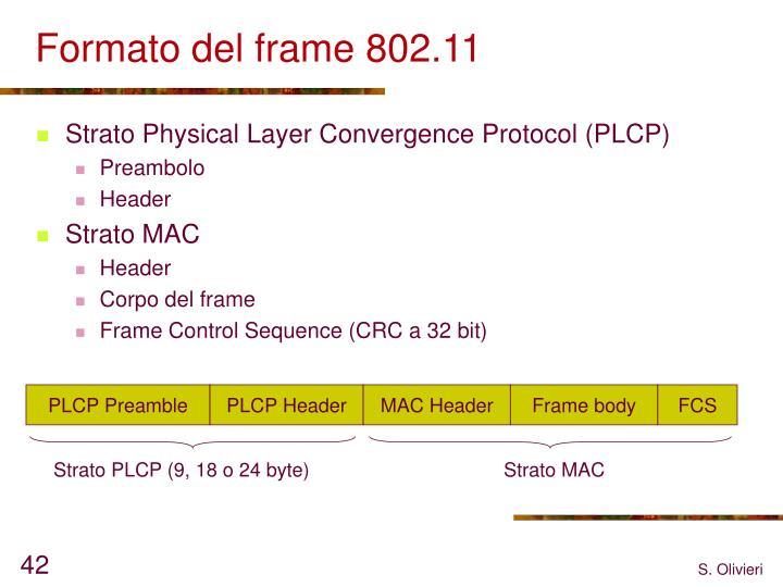 PLCP Preamble