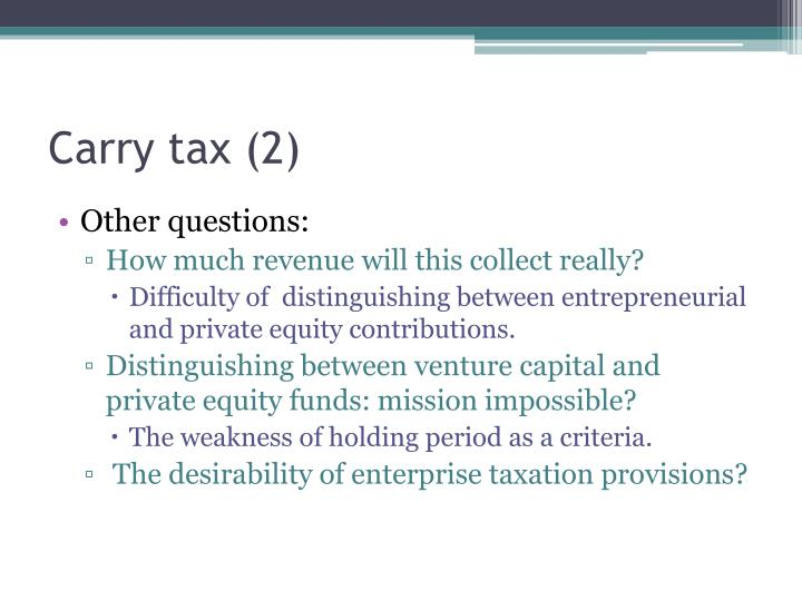 Carry tax (2)