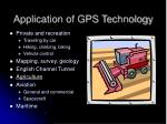 application of gps technology1