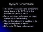 system performance2