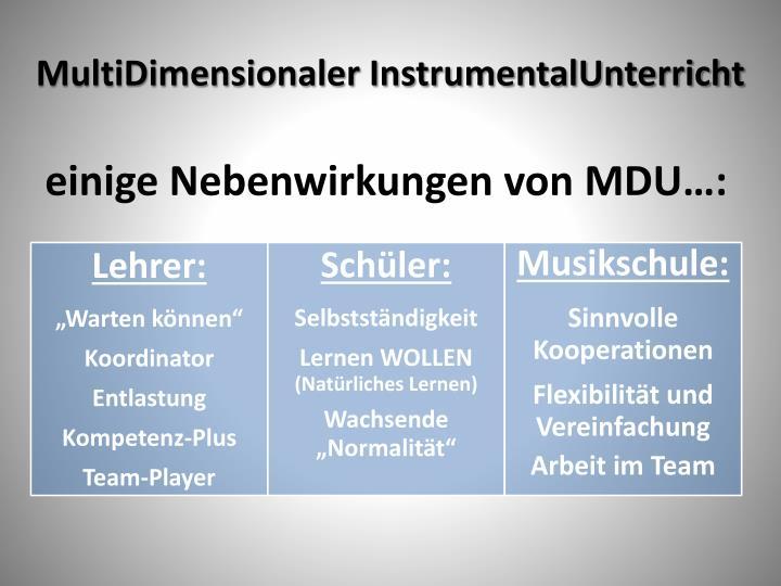 MultiDimensionaler