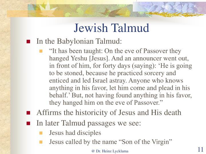 Jewish Talmud