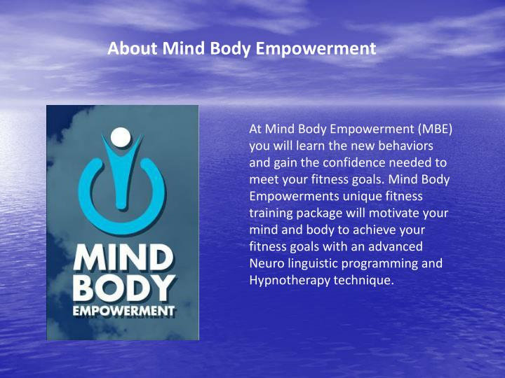 About Mind Body Empowerment