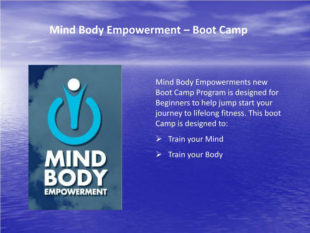 Mind Body Empowerment – Boot Camp