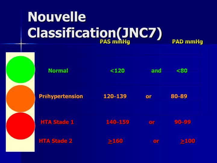 Nouvelle Classification(JNC7)