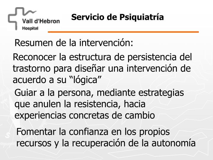 Servicio de Psiquiatría