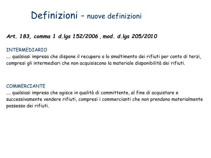 Definizioni -