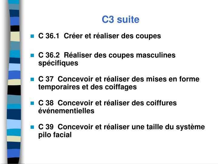 C3 suite