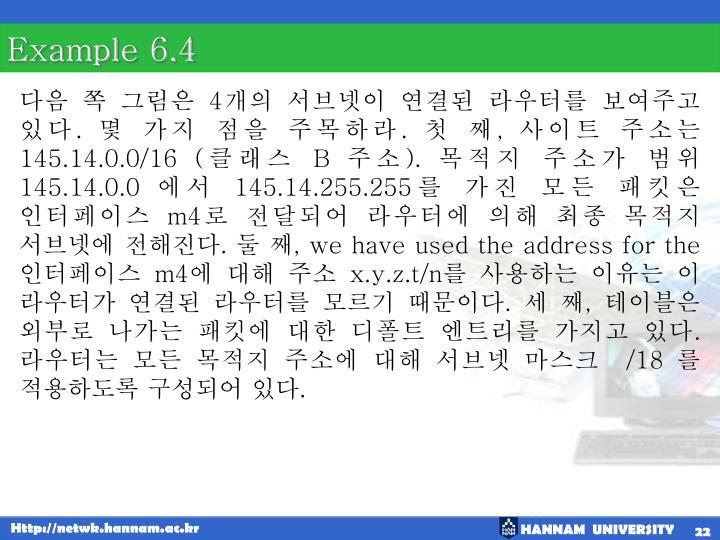 Example 6.4