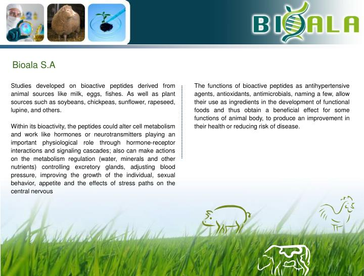 Bioala S.A