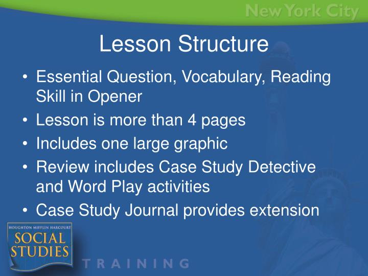 Essential Question, Vocabulary, Reading Skill in Opener