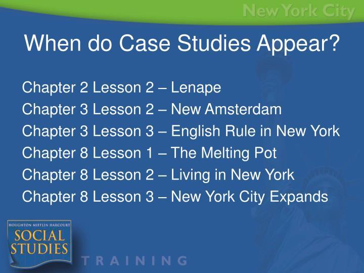 Chapter 2 Lesson 2 – Lenape