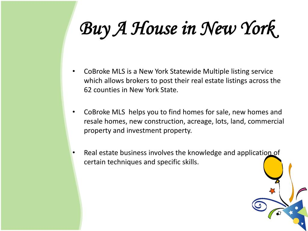 Buy A House in New York