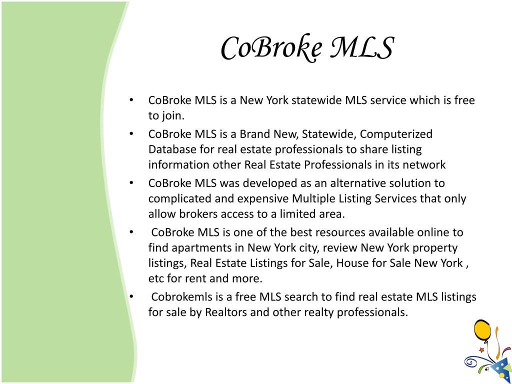 CoBroke MLS