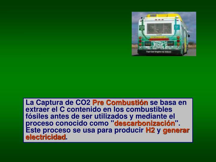 La Captura de CO2