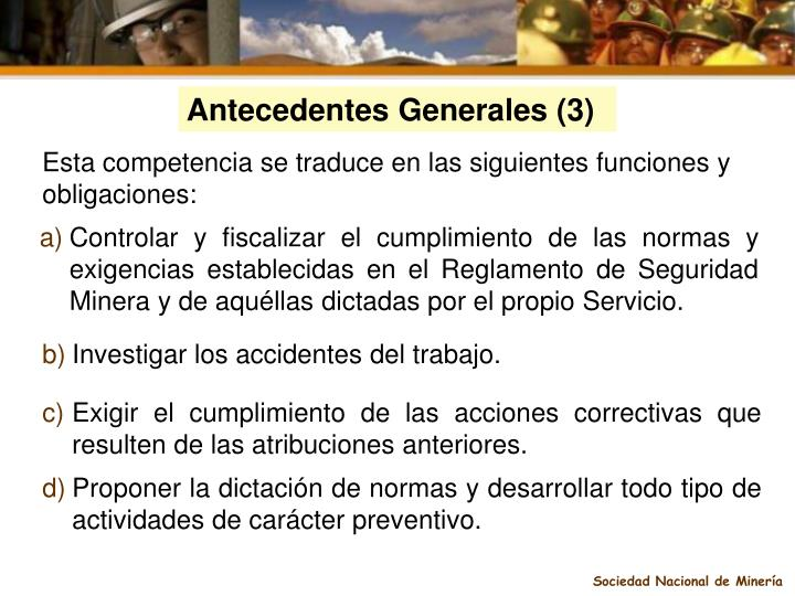 Antecedentes Generales (3)