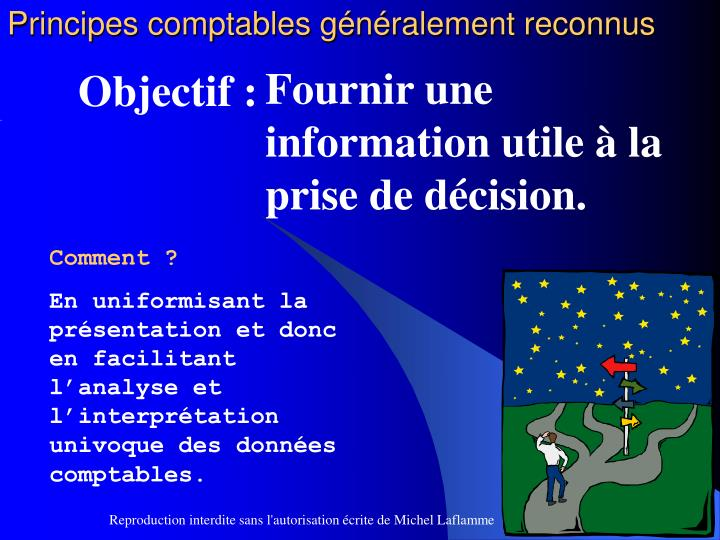Principes comptables généralement reconnus