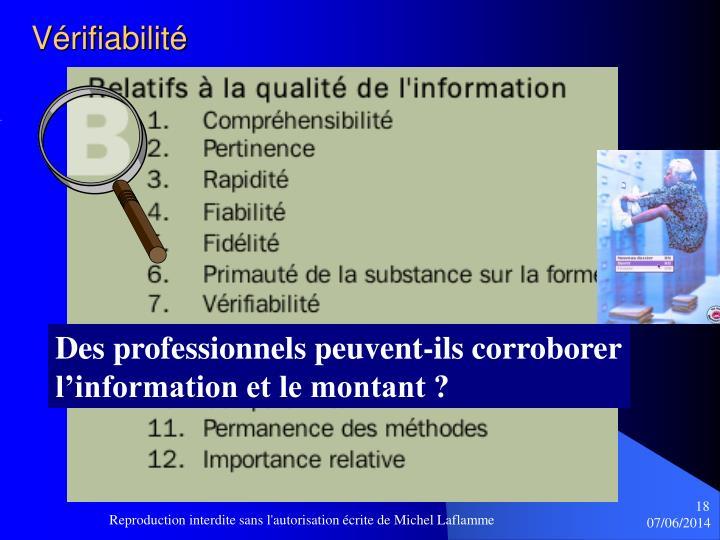 Vérifiabilité
