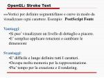 opengl stroke text