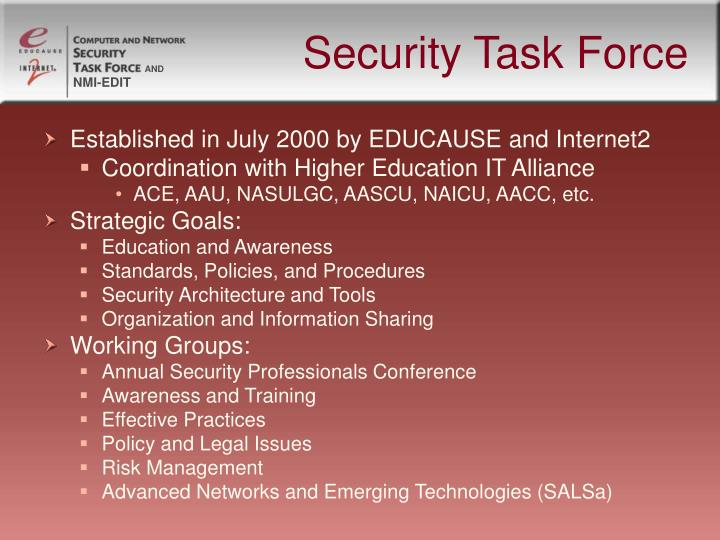 Security Task Force