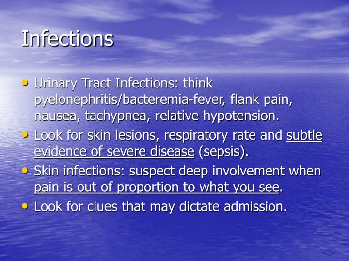 Infections