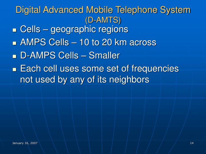 Digital Advanced Mobile Telephone System