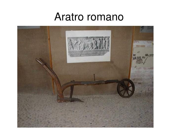 Aratro romano