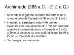 archimede 288 a c 212 a c1