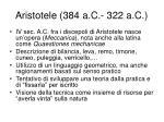 aristotele 384 a c 322 a c2