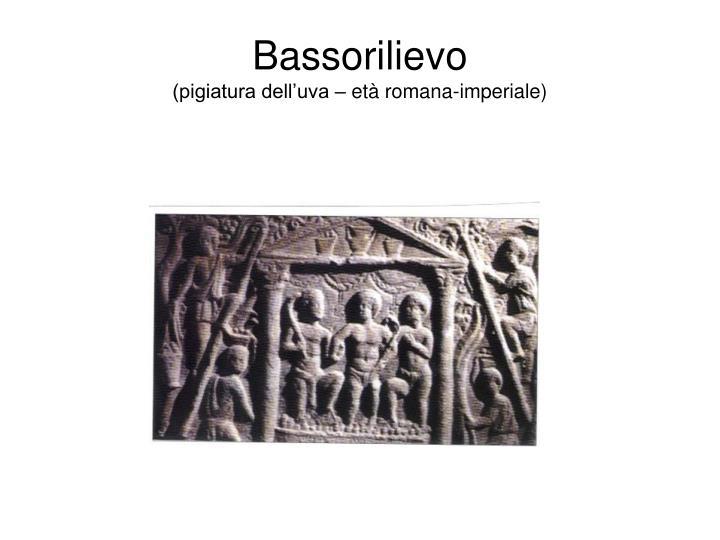 Bassorilievo