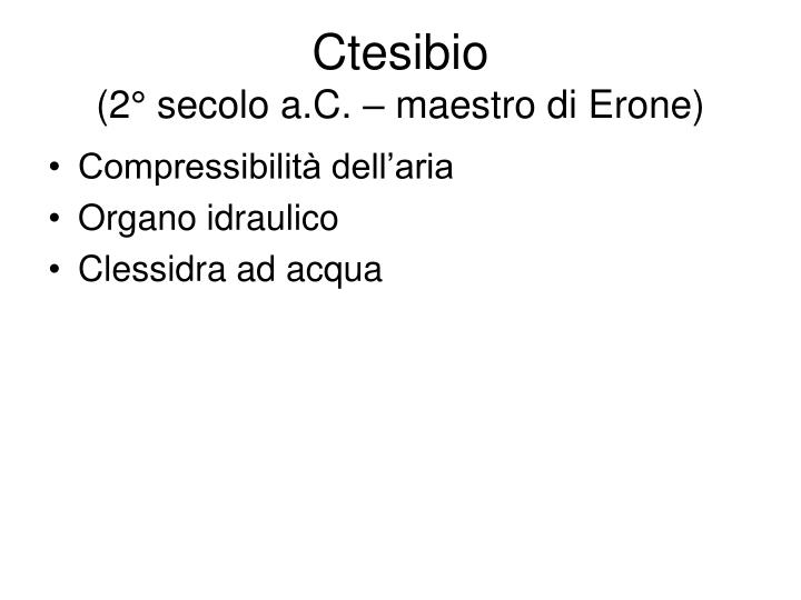 Ctesibio