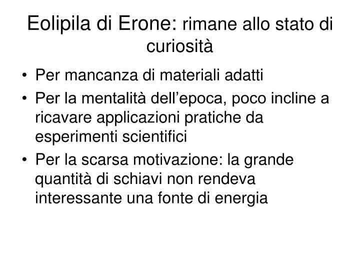 Eolipila di Erone: