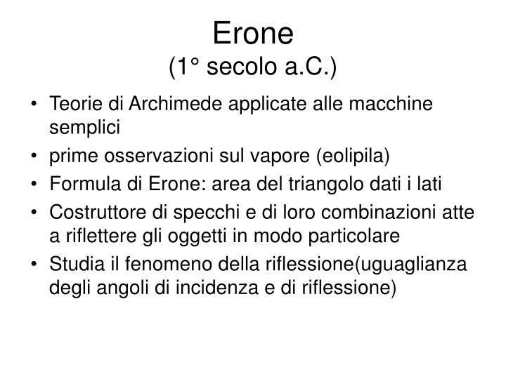 Erone