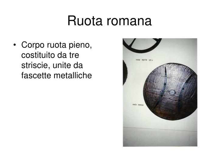 Ruota romana