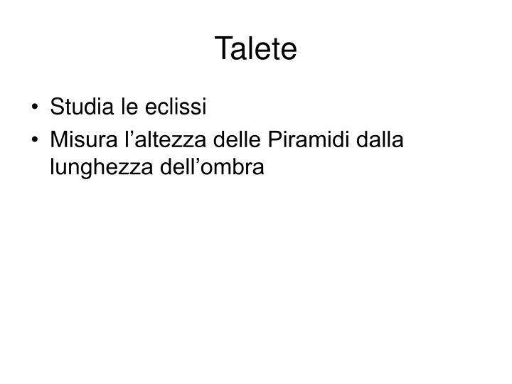Talete