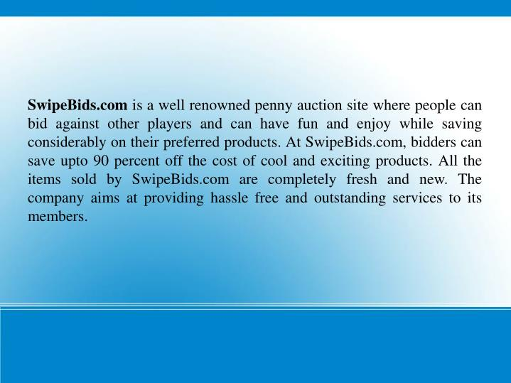 SwipeBids.com