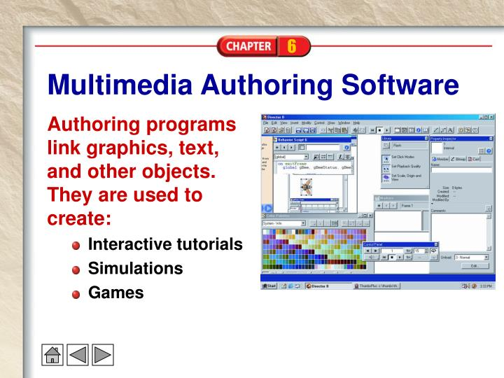 Multimedia Authoring Software