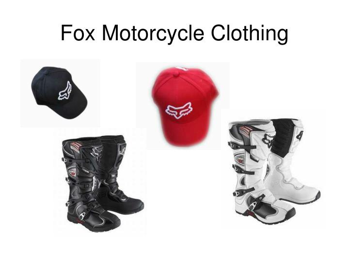 Fox motorcycle clothing1