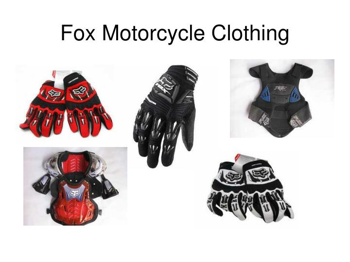 Fox motorcycle clothing2