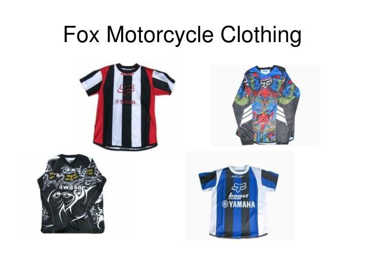 Fox Motorcycle Clothing