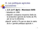 ii les politiques agricoles successives2